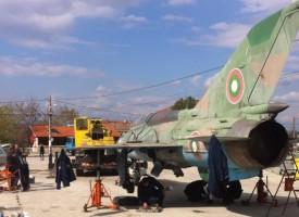 Вместо в Бошуля, МиГ21 кацна в Семчиново