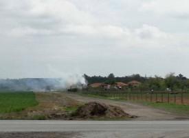 Къща горя в Гелеменово