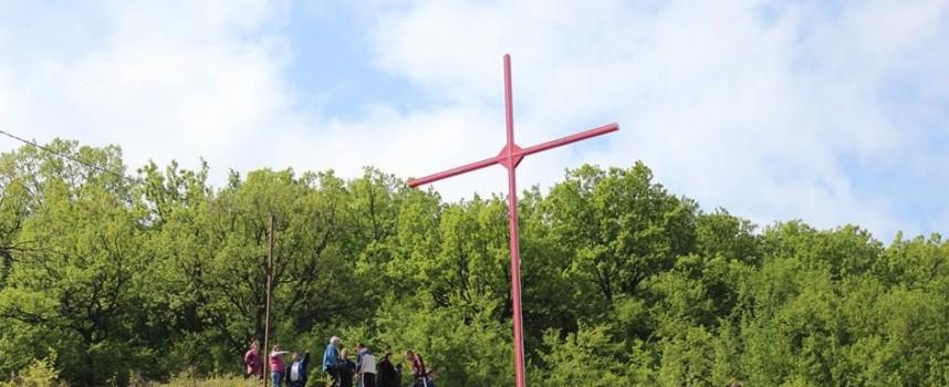 Осветиха кръста над село Симеоновец