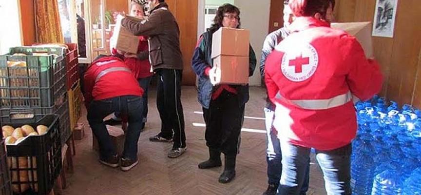 На 2 май: Започва раздаването на хранителните пакети от БЧК, вижте графика