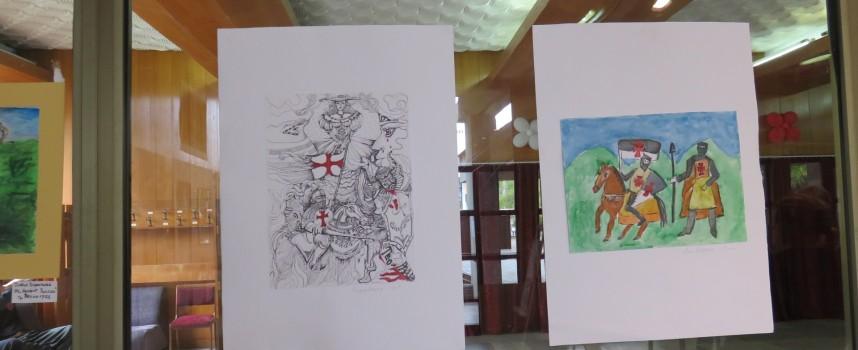 """Деца от ОУ""""Неофит Рилски"""" – Велинград участват в изложба """"Рицаря в мен"""""""
