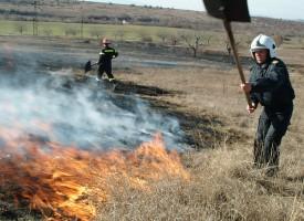 Къща горя във Велинград, стърнища край Фазанарията