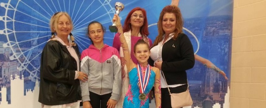 "Два златни, три сребърни и два бронзови медала за ""Диляна Прима"" от London Spring cup"