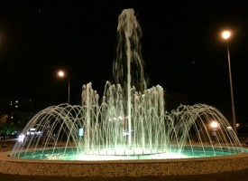 Ето как ще изглежда светещият фонтан на кръговото при Елбрус