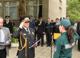 """127 стажанти от """"Гранична полиция"""" положиха клетва в Пазарджик"""