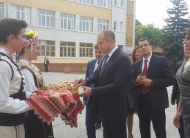 Президентът Румен Радев се срещна с кмета на Велинград