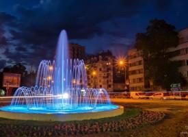 Най-новият пазарджишки фонтан заработи
