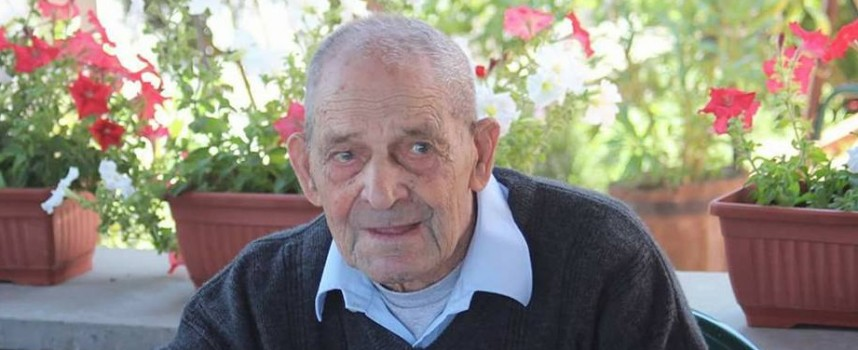 In memoriam: Напусна ни 103 годишният Темелко Лазаров от Симеоновец