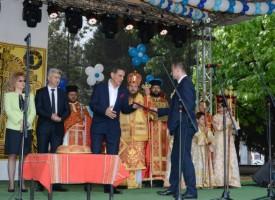Зам.-кметът на Ставропол Денис Алтапов ни поздрави за празника