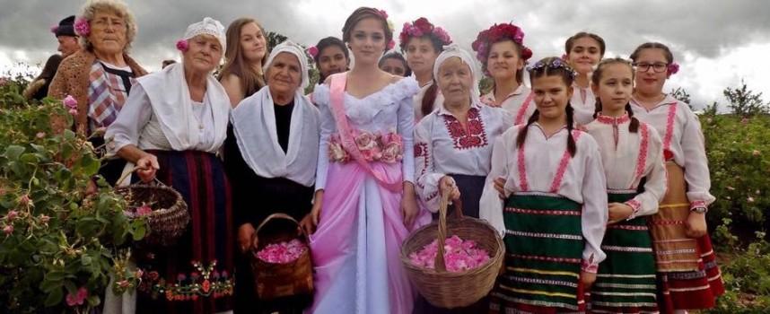 За 22-ри път отбелязаха Празника на розата в Стрелча (снимки)