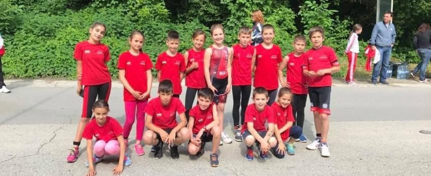 """7 шампиона и общо 14 медала за """"Шампион"""" от Държавното по триатлон"""