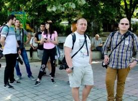 """Гаро Ашикян и Скилър в днешния ден на """"Арт идея – арт алея"""""""