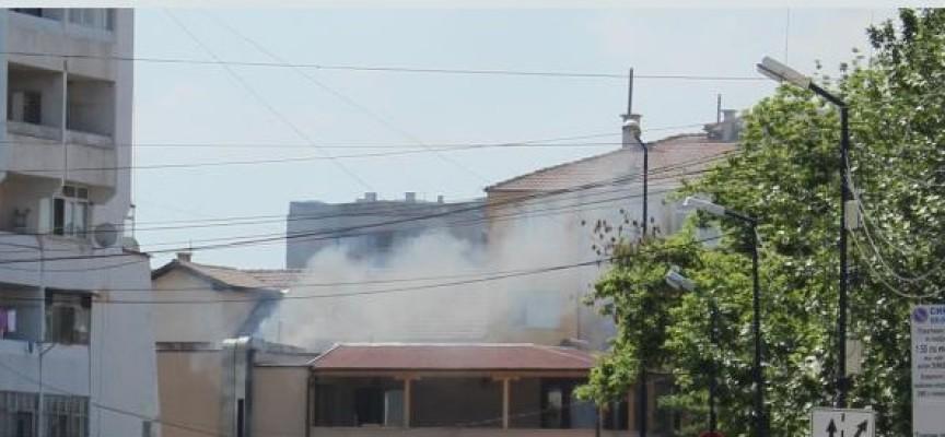 """Лумна пожар в кооперация на ул.""""Струма"""""""