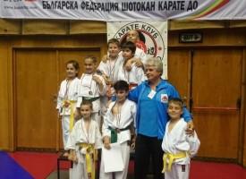"""Габрово: Седем златни, осем сребърни и шест бронзови медала за """"Тонус -спорт"""""""