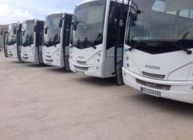 Нови автобуси обслужват градските линии на Пазарджик