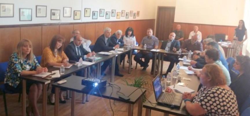 Областният съвет за развитие проведе заседание в Лесичово