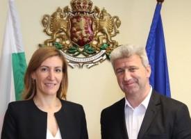 Кметът на Пещера се срещна с министър Ангелкова