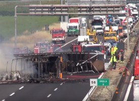 В Италия: Български и хърватски ТИР се сблъскаха край Равена