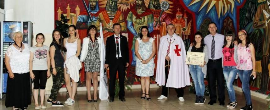 Деца с рицарски сърца получиха днес наградите си от Ордена на тамплиерите