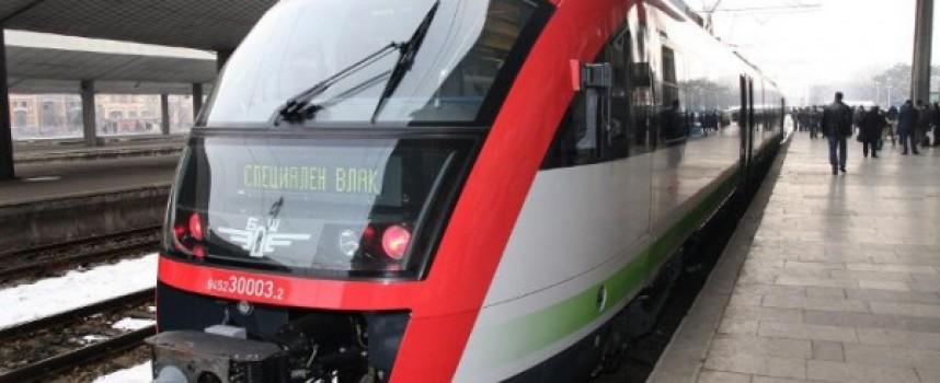 В неделя: Влаковете тръгват с нов график в някои региони