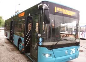 Общественият транспорт в Пазарджик днес ще работи до 20 ч., утре тролеи и автобуси потеглят в 13 ч.