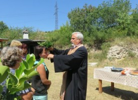 Бяга почете Свети Атанасий Атонски с курбан за здраве