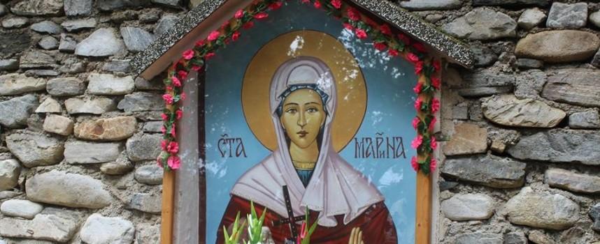 Във Варвара: Стотици празнуваха Света Марина – покровителката на дома и семейството