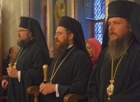 Константийският епископ Яков отслужи Илинденска литургия във Ветрен