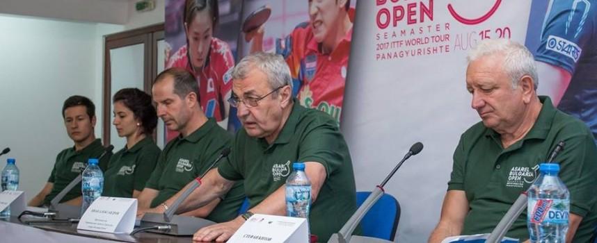 Панагюрище: Рекорден брой участници идват за Seamaster 2017 ITTF World Tour – Bulgaria Open