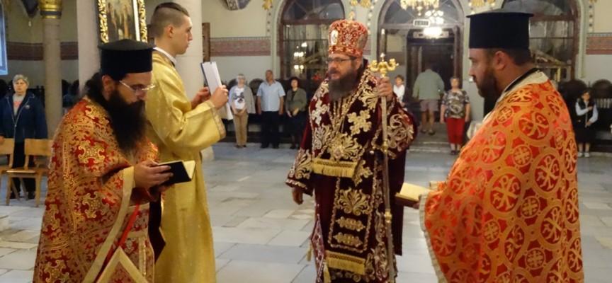 Погребали епископ Дионисий седнал на трон, бележим 190 г. от кончината му
