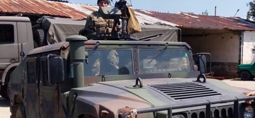 Црънча: Командосите впечатлиха министър Каракачанов с техника и бързина