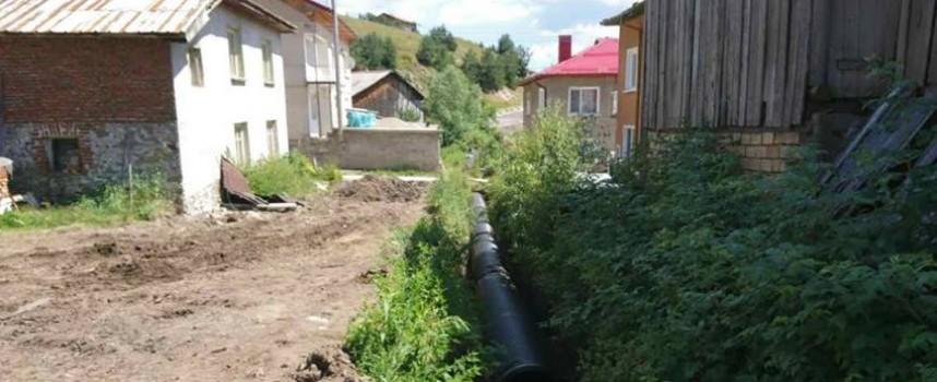 Сърница: Готова е втората частична канализационна мрежа