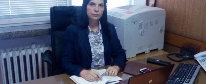 Марияна Шопова оглави административния отдел в ОДМВР
