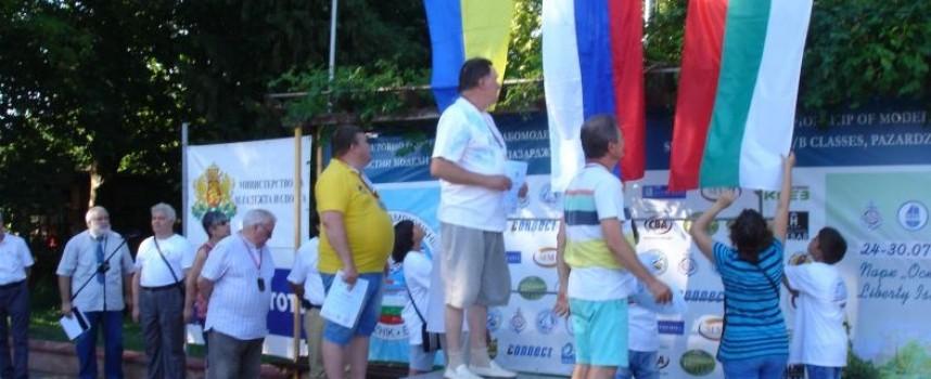 Златото от 20-то Световно първенство по корабомоделизъм замина за Украйна