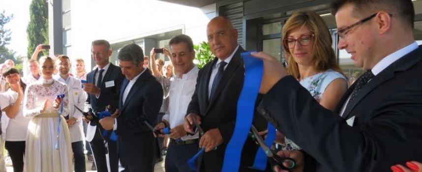 Пазарджик: Премиерът Борисов отряза лентата на инвестиция за 32 милиона (снимки)