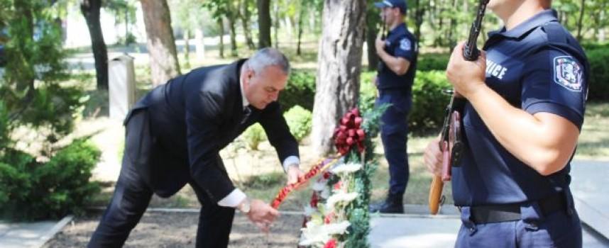 Казанлък: Зам.министър Стефан Балабанов присъства на клетва на 102 полицаи