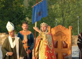 Велико Търново: Коронясаха асарелец като цар Калоян