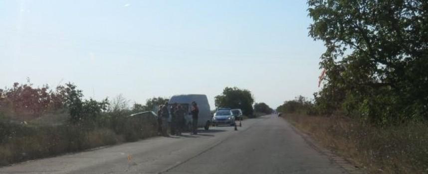Лека катастрофа на пътя Пазарджик – Ветрен