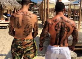 Читателска връзка: Деца питат защо мъже ходят с татуиран Левски на гърба