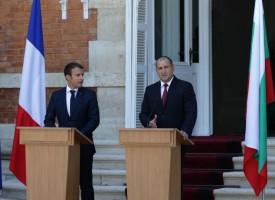 Евксиноград: Френският президент се срещна с нашия и премиера Бойко Борисов, с какво го гостиха