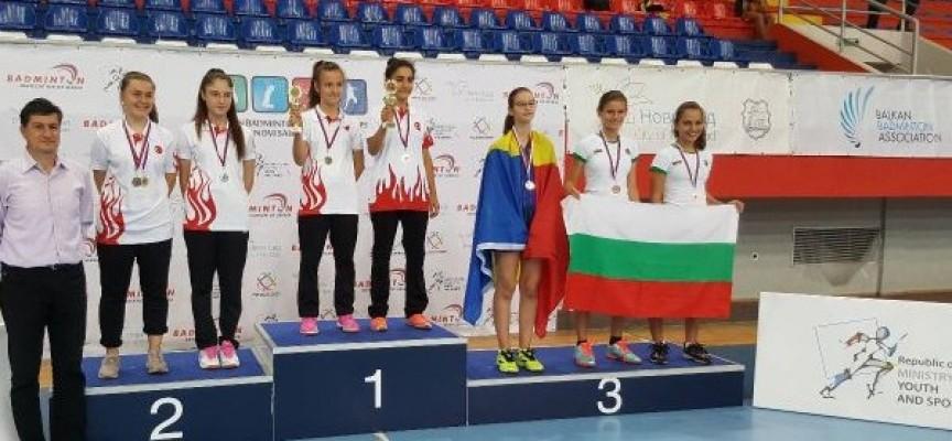 Медали за пазарджишките бадминтонистки от Балканиадата в Нови Сад