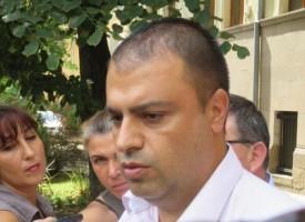 Щъркелът донесе днес: Комисар Йордан Рогачев стана татко на момче
