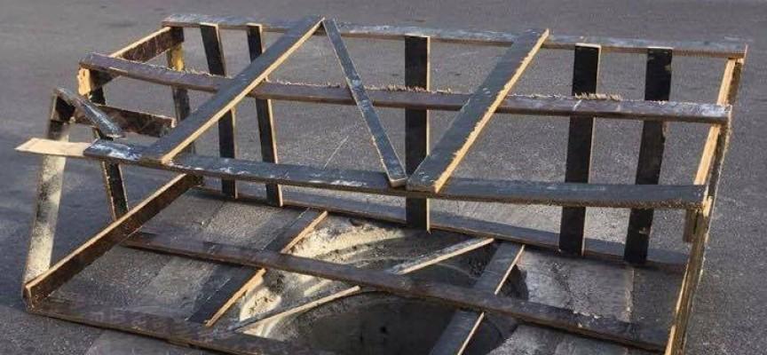 Дупка зейна на най-новата улица в Пазарджик
