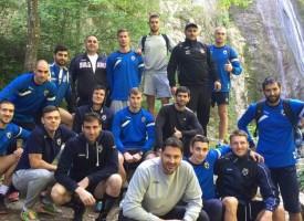 """ВК Хебър се връща днес от подготвителния лагер в зала """"Васил Левски"""""""