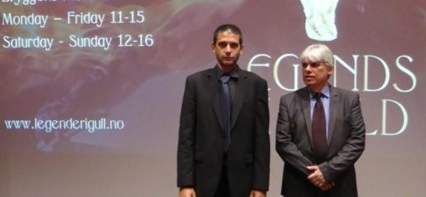 """Берген: Борис Хаджийски бе на откриването на изложбата """"Легенди в злато"""""""
