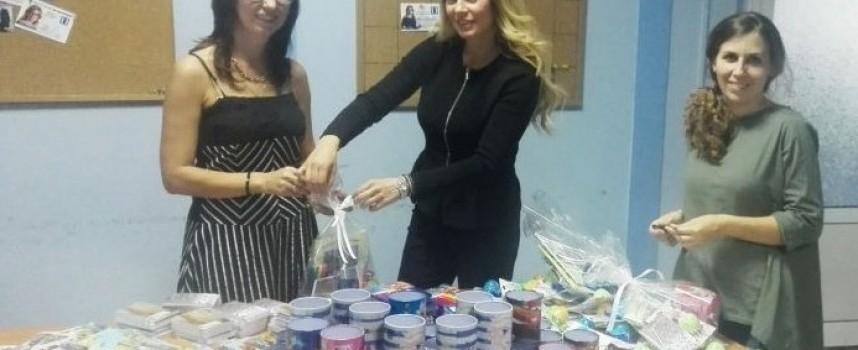 Десислава Тодорова с дарение за първия учебен ден