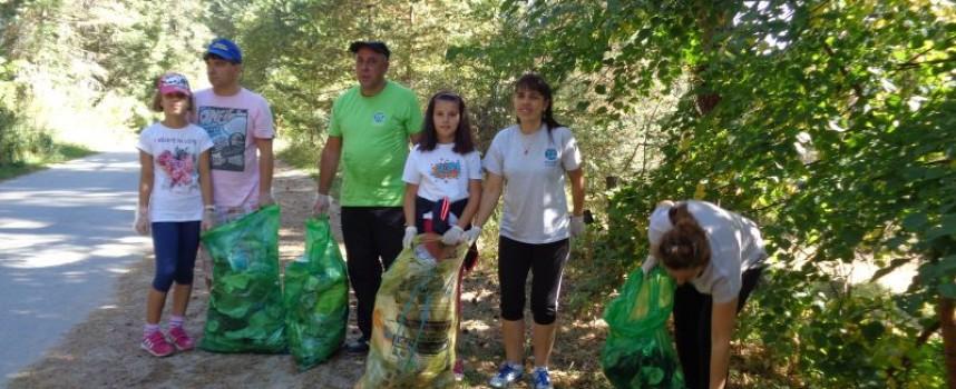 5154 доброволци почистиха 197 замърсени места в област Пазарджик, ето къде