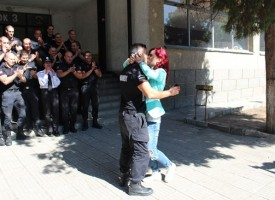 Пазарджик: Жандармерист от Бургас предложи на изгората си след клетвата днес