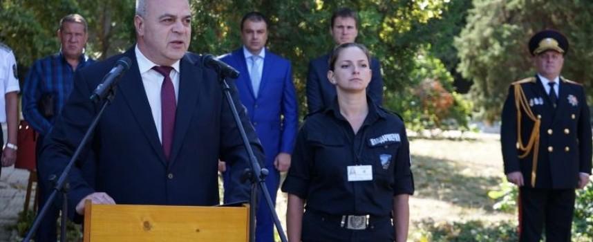 Зам. министър Стефан Балабанов поздрави днес жандармеристите положили клетва