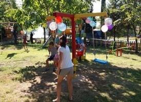 Ветрен: Откриха поредна детска площадка